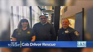 Cab Driver Saves Elderly Woman From Being Scammed Out Of $25K In Roseville [Video]
