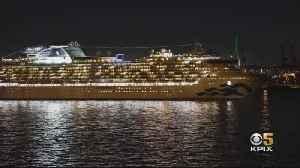 Plane Carrying Cruise Ship Coronavirus Evacuees Lands At Travis Air Force Base [Video]