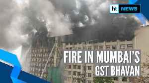 Watch: Fire breaks out in GST Bhavan in Mumbai, Ajit Pawar visits site [Video]