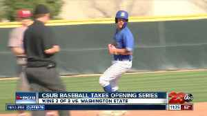 CSUB baseball takes series against Washington State [Video]
