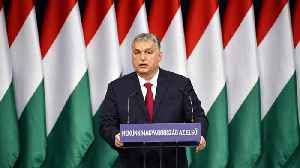 Hungary's Orban lashes out at slow EU growth, 'sinister menaces' and George Soros