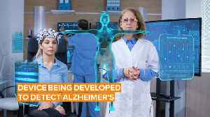 Would you wear a device that helps detect Alzheimer's? [Video]