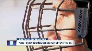 Labatt Blue Buffalo Hockey Tournament's impact beyond the ice [Video]
