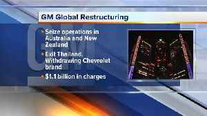 News video: GM plans to pull out of Australia, New Zealand and Thailand