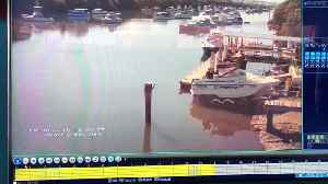 Boat Ramp Brake Failure [Video]
