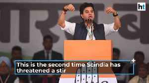 'Fighting for people's issues my dharm': Jyotiraditya Scindia [Video]