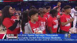 All-Star Game Delivers Thousands Of Dollars For Chicago Students [Video]