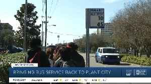Bus service could soon be back in Plant City [Video]