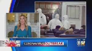 News video: Americans Who Were Quarantined On Cruise Ship Land In California, Texas