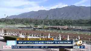 Proposed law would add regulations to horse racing [Video]
