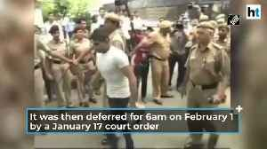 Court issues fresh death warrant to execute Delhi gangrape convicts on March 3 [Video]