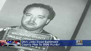 DNA Links Dead Maryland Man To 1996 Murder In South Carolina [Video]