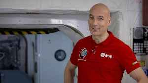 News video: Astronaut Luca Parmitano discusses space travel in Global Conversation