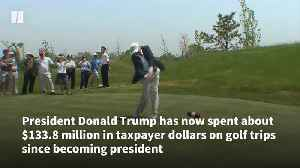 President Donald Trump's Golf Tab Soars [Video]