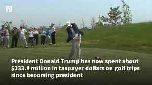 President Donald Trump's Golf Tab Soars [Video]