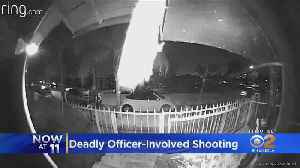 Home Security Video Shows Armed Suspect Being Shot, Killed By Long Beach Police [Video]