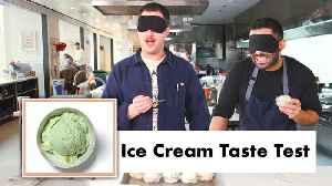 Pro Chefs Blindly Taste Test Ice Cream [Video]