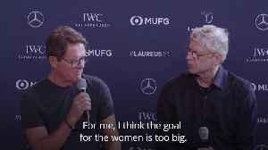 Fabio Capello: Football goals are too big for women [Video]