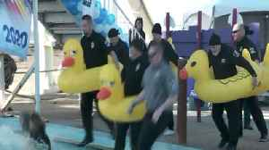 Law Enforcement Officers Take the Plunge for Special Olympics Oklahoma [Video]