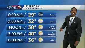 Temps tumble for Tuesday [Video]