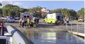 News video: MCSO: 4 injured in jet ski crash near Sandsprit Park boat ramp
