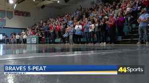 HS Wrestle: Union County Claims State Title: [Video]