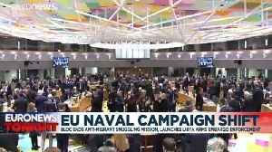 EU to end Mediterranean anti-smuggler mission and tackle Libya arms flow [Video]