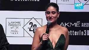 Kareena Kapoor's fashion statement : I'm happy in my pajamas [Video]