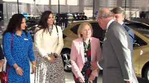 Prince Charles opens National Automotive Innovation Centre [Video]