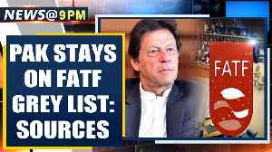 Sources: Pakistan to stay on FATF grey list, escapes new sanctions| OneIndia News [Video]