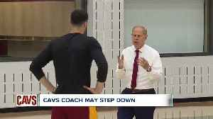 Cavs head coach Jon Beilein is only half way through the first year of his 5 year contract, but it looks like he is considering  [Video]