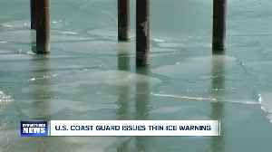 US Coast Guard issues thin ice warning [Video]