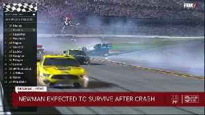Ryan Newman suffers serious, not life-threatening injuries from crash during Daytona 500 [Video]
