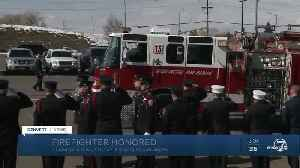 Funeral, procession held for West Metro firefighter who died of job-related cancer [Video]