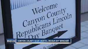 Canyon County GOP hosts Lincoln Day banquet [Video]