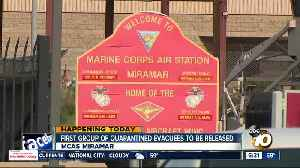 First group of evacuees to be released from quarantine at MCAS Miramar [Video]