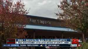 Pier 1 Imports files for bankruptcy [Video]