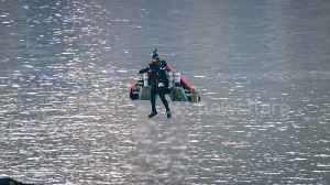 'Jetman' soars above Dubai with carbon fibre wingsuit in quest for autonomous human flight [Video]