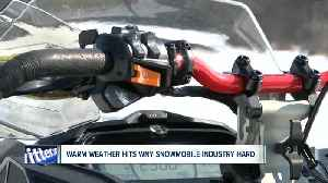 Warm weather takes a toll on Western New York snowmobile industry [Video]