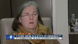 'State of emergency:' City leaders, experts say domestic violence needs the community's attention [Video]