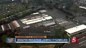 Fairgrounds readies for demolition for Nashville SC stadium [Video]