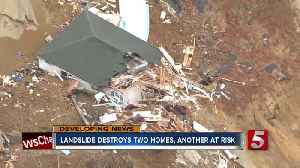 Landslide destroys 2 homes in western Tennessee; no one hurt [Video]