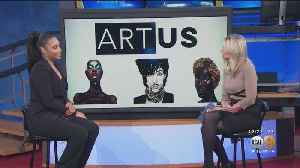 Artist Bria Murphy, Eddie Murphy's Daughter, Visits KCAL9 To Discuss Exhibit At ARTUS Gallery [Video]
