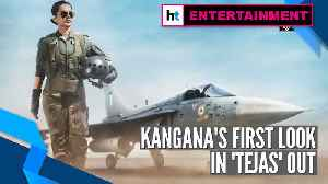 Kangana Ranaut looks commanding as Air Force pilot in first look of 'Tejas' [Video]
