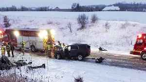 Sheriff: Racine Officer Died from Injuries Suffered in 'Weather-Related' Crash in Wisconsin [Video]