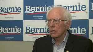 Raw Video: KPIX 5's Allen Martin Talks One-On-One With Sen. Bernie Sanders [Video]