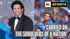 News video: Sachin Tendulkar's WC victory lap wins Laureus Sporting Moment of last two decades