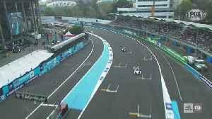 Mexico City E-Prix Race Highlight Clip from Round 4 of the 2019/2020 ABB FIA Formula E Championship [Video]