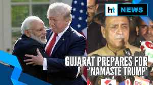 'Over 1 lakh people will welcome President Trump in Gujarat': Vijay Rupani [Video]