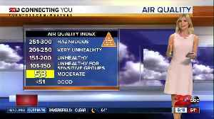 Mostly sunny and above average temperatures prevail for most of the work week [Video]